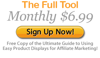 Full Tool Monthly Sign Up is only 6.99